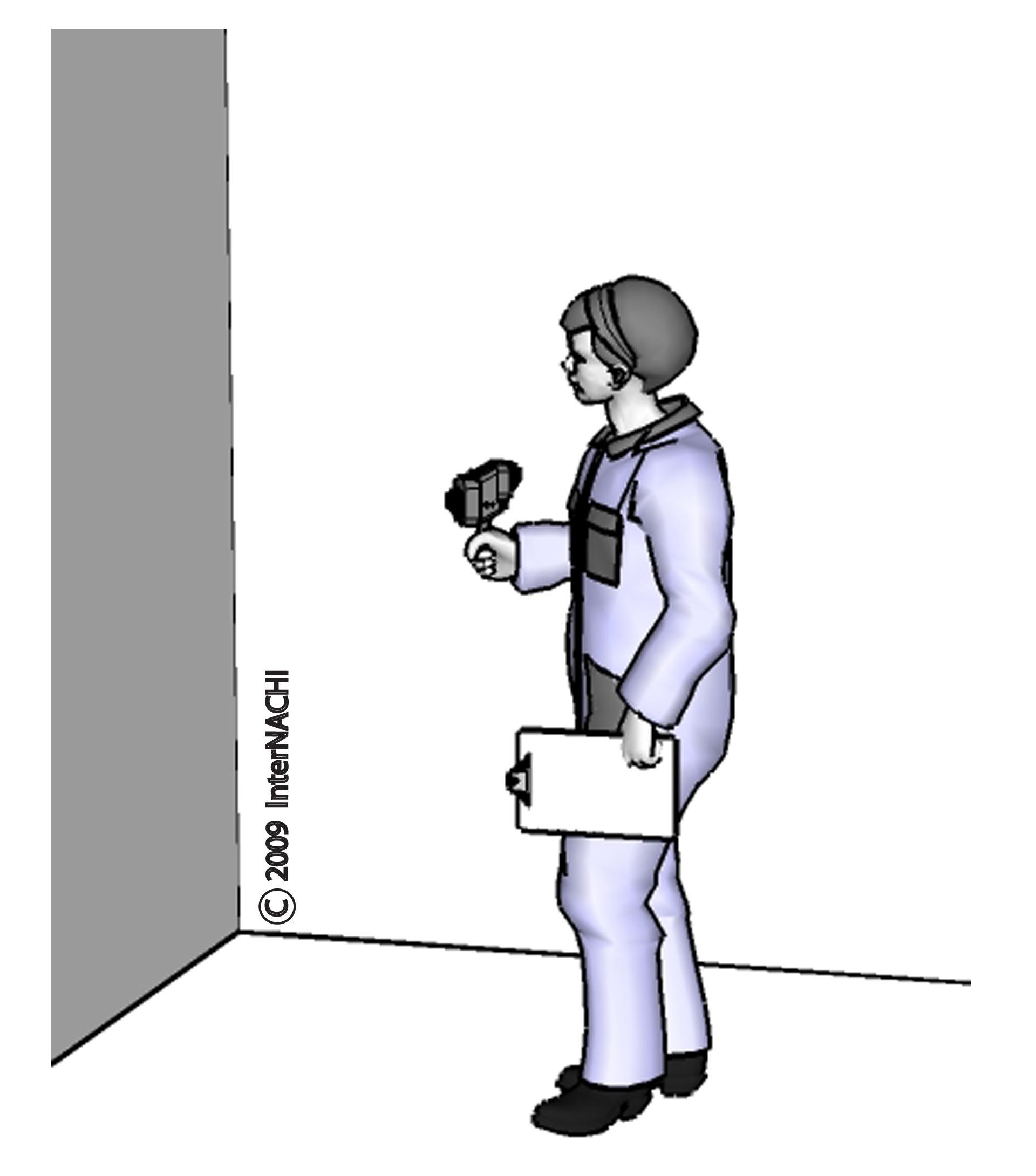 Thermal imaging inspector.