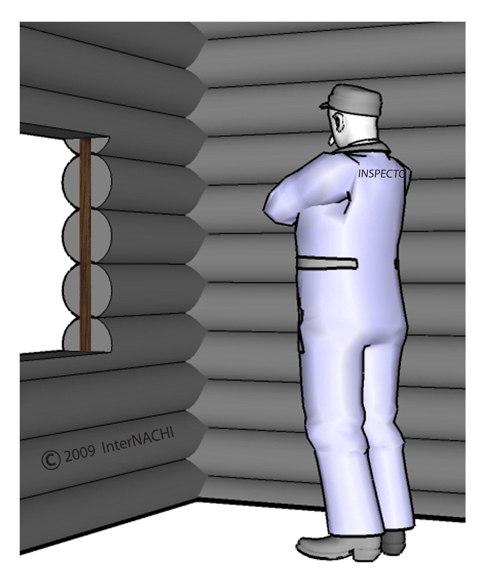 Log home inspection.