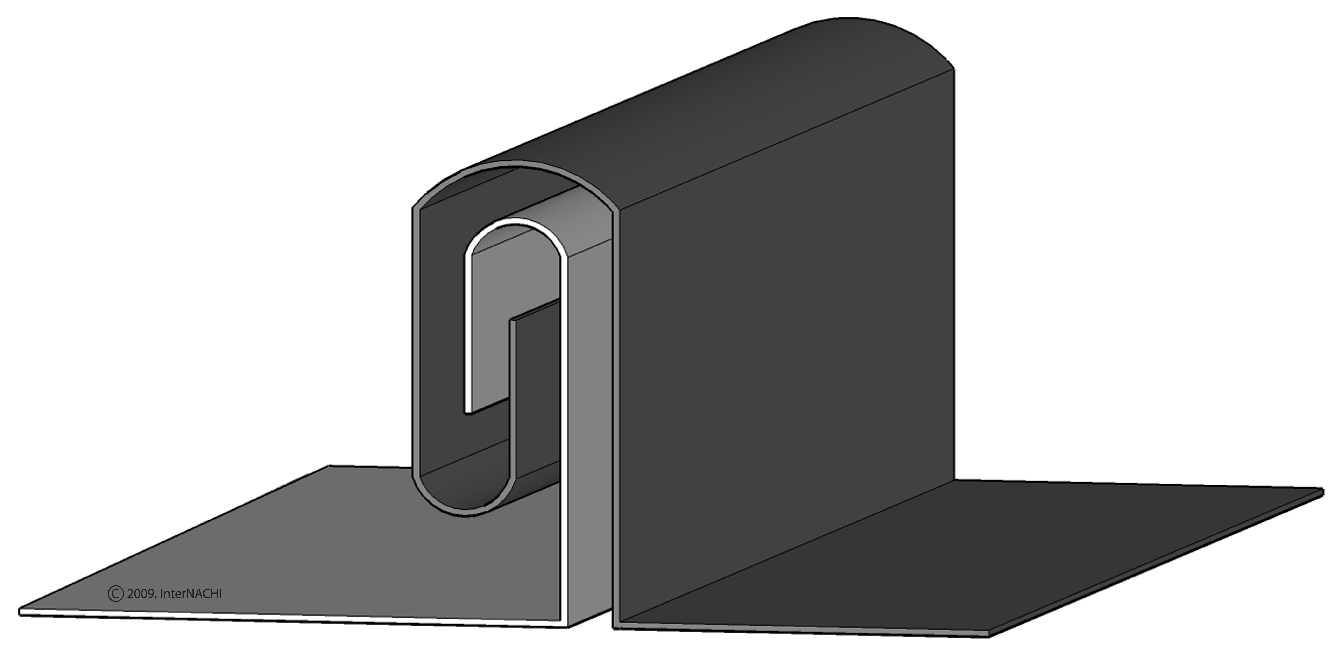 Double Lock Seam Inspection Gallery Internachi 174