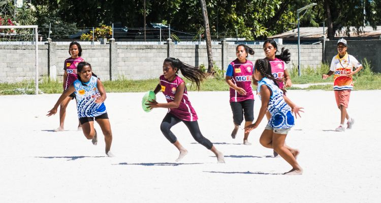 The Pacific nation of Kiribati embraces the inclusiveness of Touch