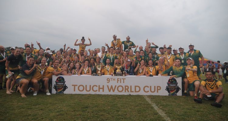 Australia dominate Touch World Cup
