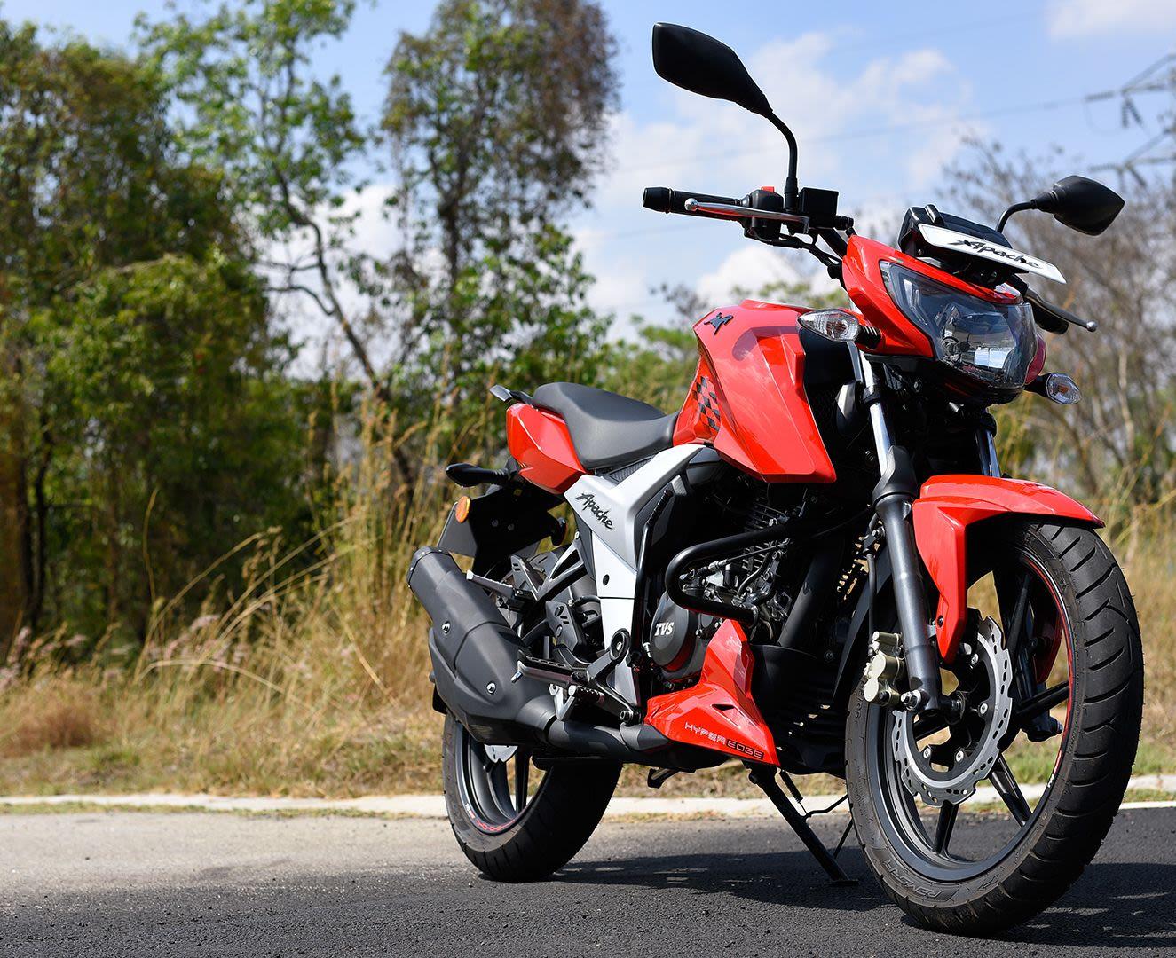 Apache Rtr 160 on Rent in Dehradun. Bike Rental Dehradun.