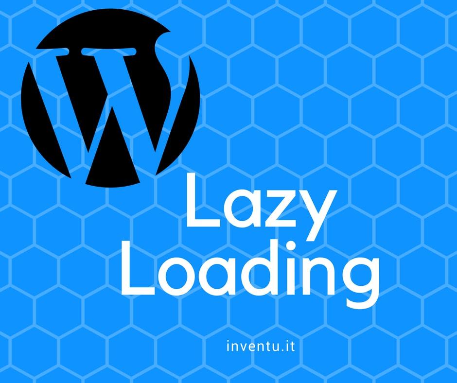 lazy loading wordpress