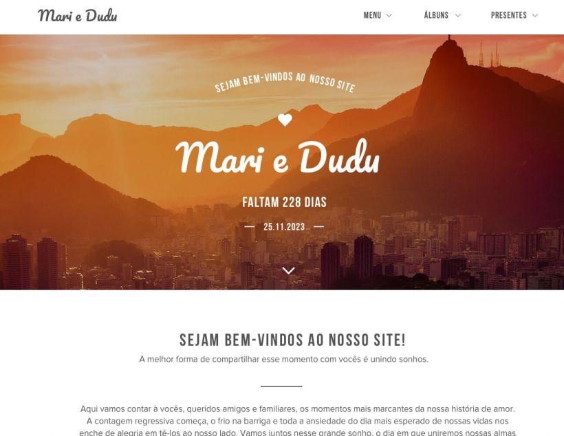 Web site Personalizado da sua Festa