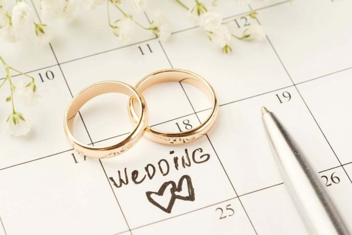 Guia completo para os melhores meses para Casar!