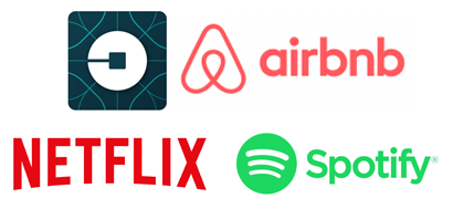 Group uber Airbnb Spotify Netflix
