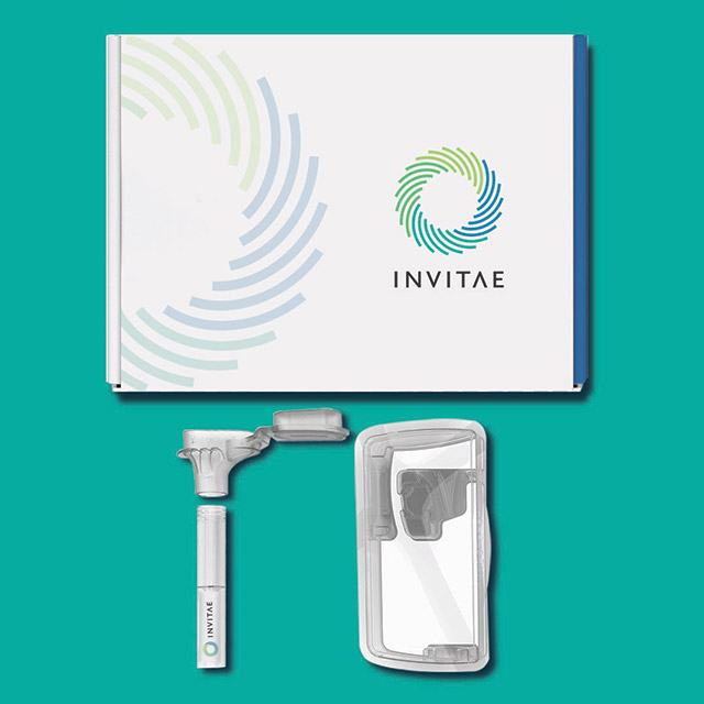 Invitae DNA Test Kit packaging