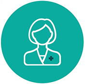 (Icon: Guidance with Gia clinical chatbot)