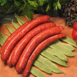 Merguez - Embutido rojo, muy especiado y picante