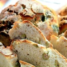 Receta para preparar Pan de Aceitunas