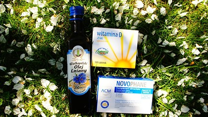 Novophane, ulei de in si vitamina D