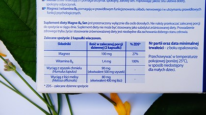 Ingredientele MagneVie Somn Ușor de la Sanofi
