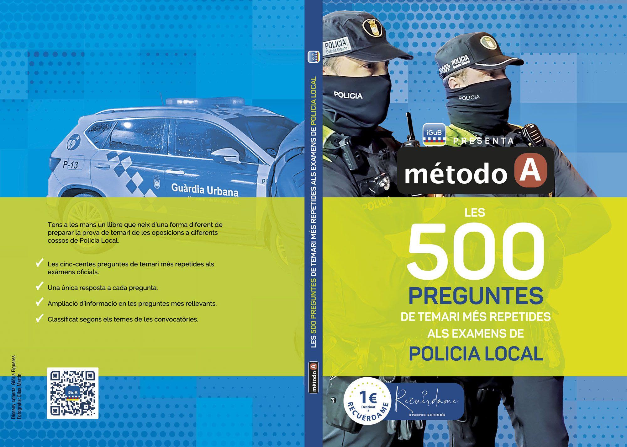 Les 500 preguntes de temari més repetides als examens de policia local