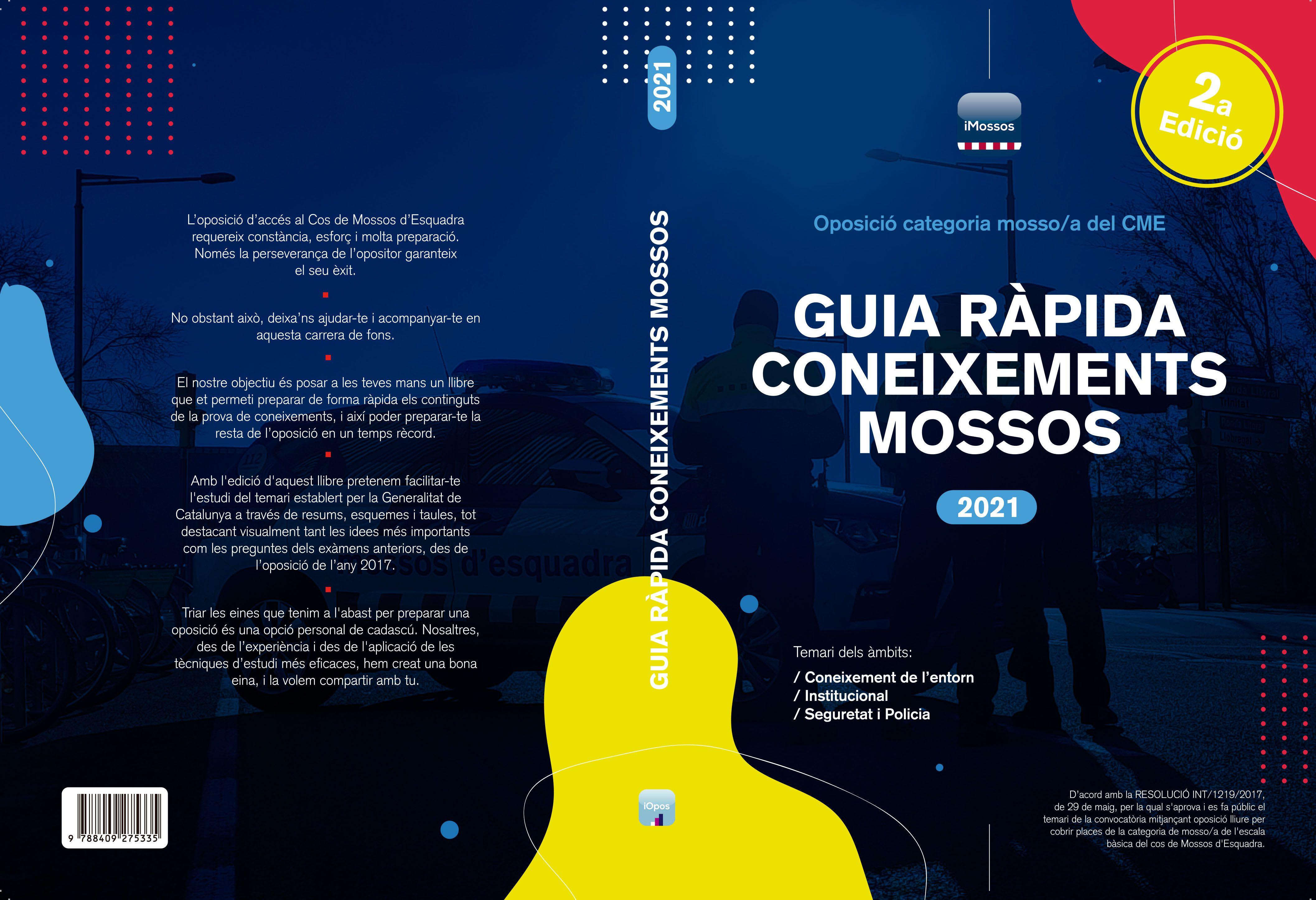 Guia Ràpida Coneixements Mossos 2021