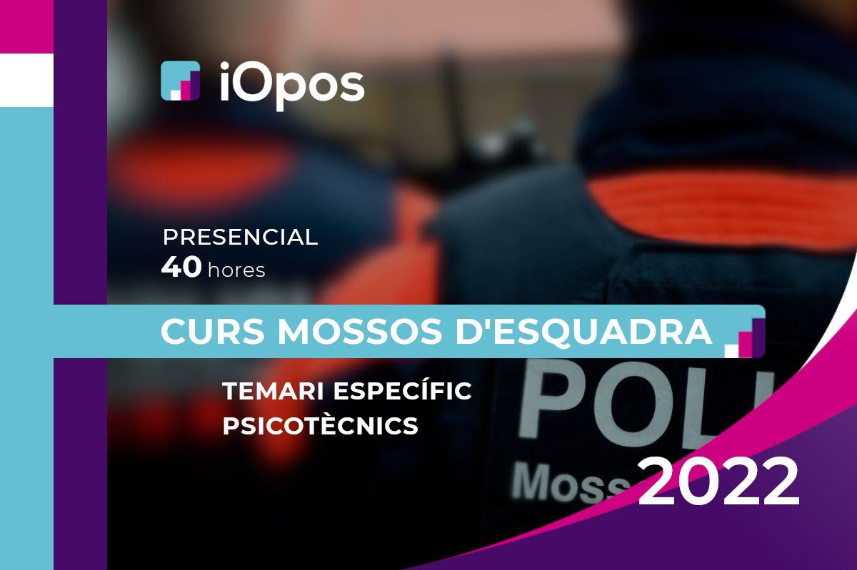 Curs Presencial Mossos d'Esquadra 2022 (3a edició)