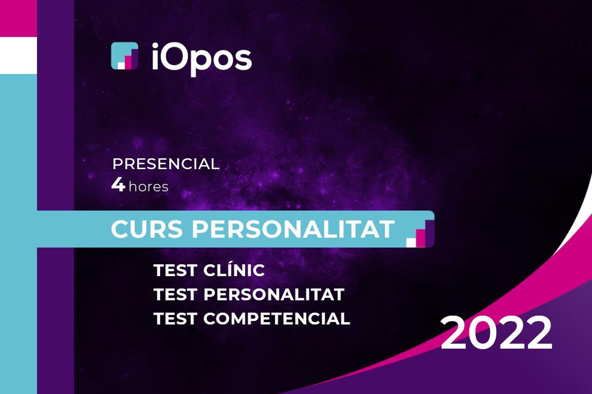 Curs de Preparació de les Proves de Personalitat (25 d'octubre)
