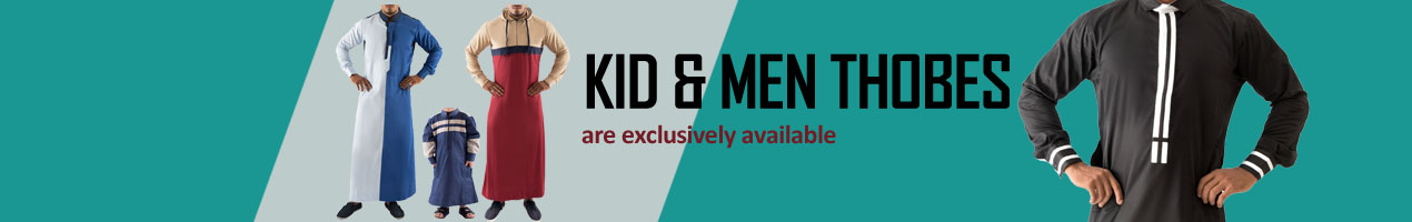 Buy Kid & Men  Thobe online on Islamic Book Bazar