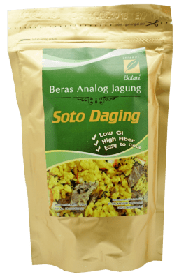 jual Beras Analog Soto Daging 100G Ipb Store Healthy & Natural Product Ipb Store