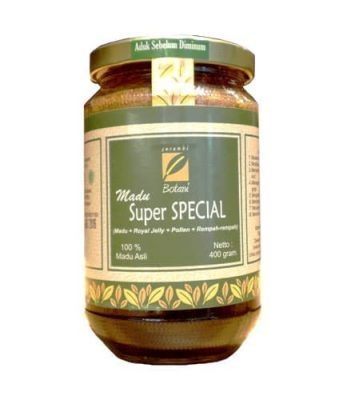 jual Madu Super 400G Ipb Store Plus Royal Jelly Dan Pollen Ipb Store