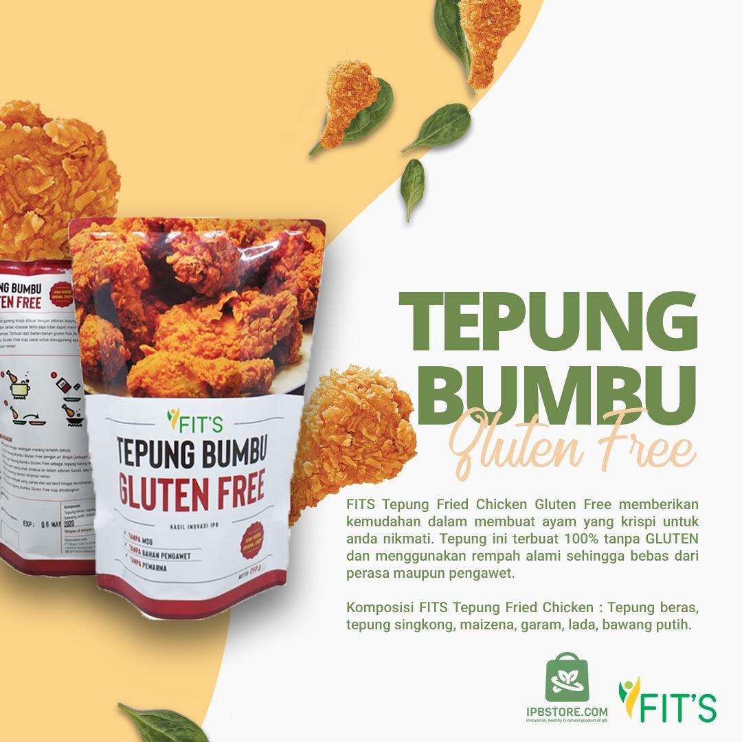 jual Tepung Bumbu Ayam Goreng Fried Chicken Gluten Free NON MSG