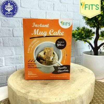 jual Instant Mug Cake Moringa Kelor Coklat Vanilla Sehat Gluten Free - Chocolate