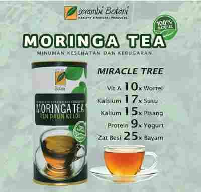 jual New Product!! Moringa Tea 100% Natural Ipb Store Ipb Store