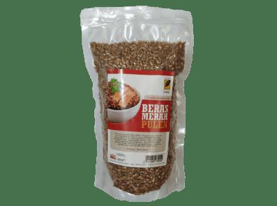 jual Beras Merah Pulen 800G Ipb Store Healthy & Natural Products Ipb Store