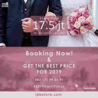 jual Wedding Package Murah Pusat Kota Bogor Botani Square