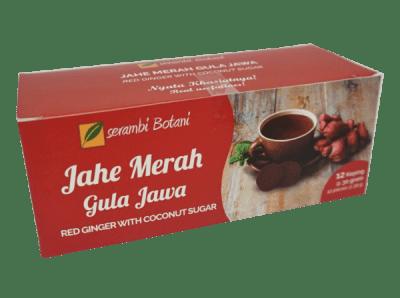 jual Jahe Merah Gula Jawa Isi 12 Ipb Store Ipb Store