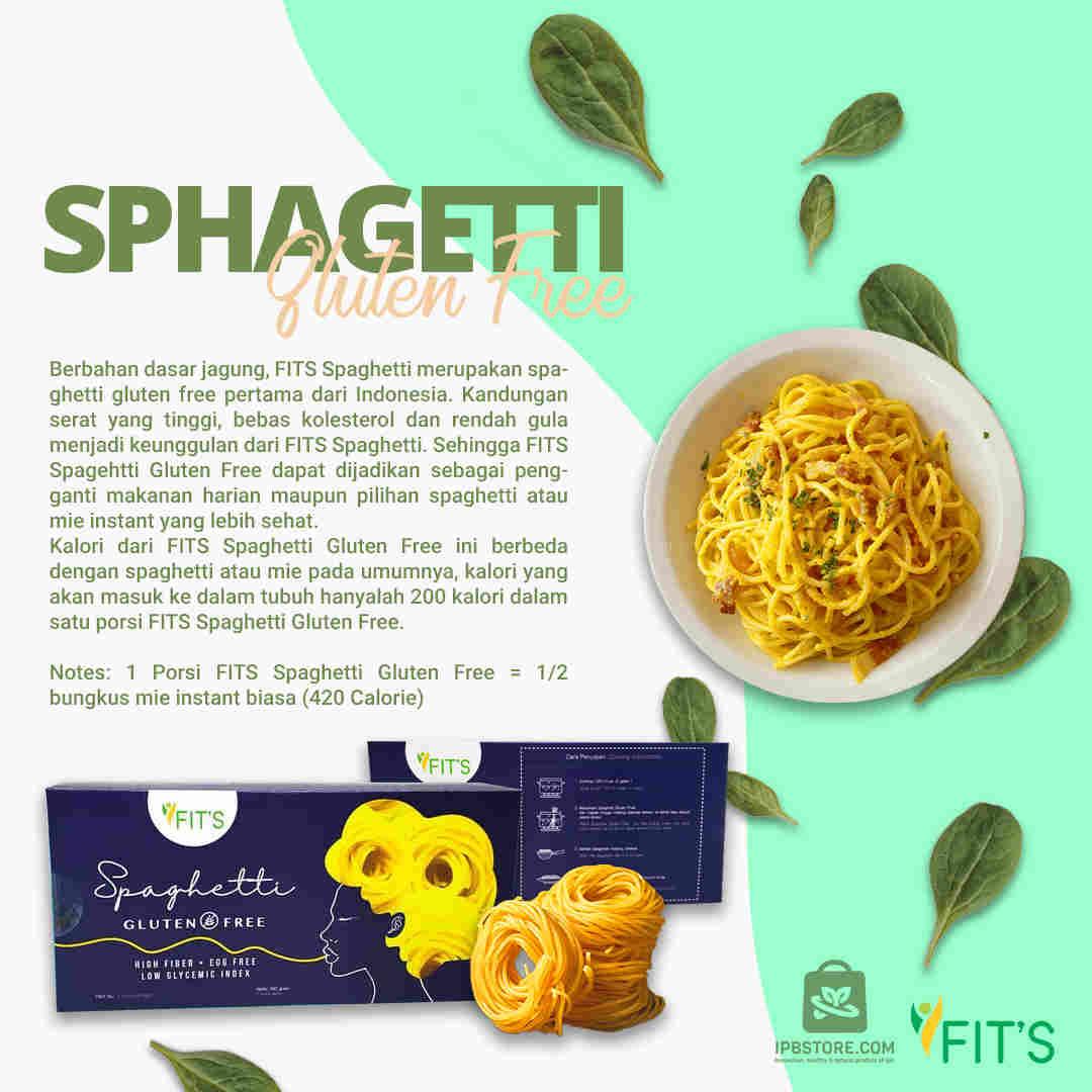 jual Spaghetti Bebas Gluten Free Dairy Free Instant Praktis 3 Porsi