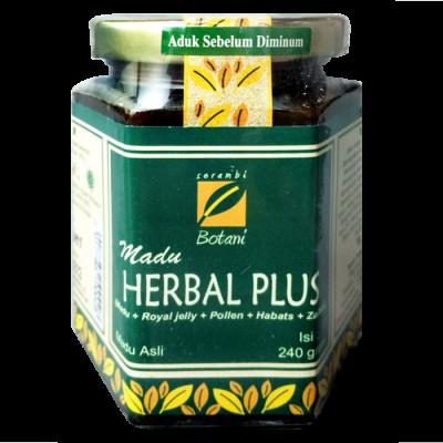 jual Madu Herbal Plus 240G Ipb Store Healthy & Natural Products Ipb Store