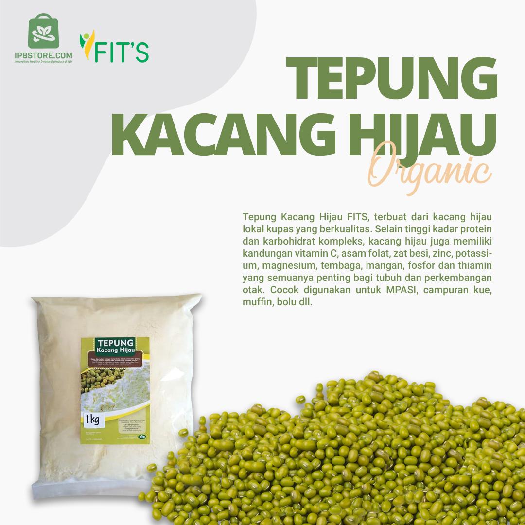 jual Tepung kacang hijau Fits Mandiri Alami 1kg murah