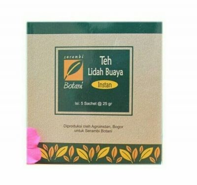 Teh Lidah Buaya Isi 5 Ipb Store Ekstrak Teh Hitam + Susu Ipb Store