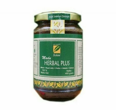 Madu Herbal Plus 400G Ipb Store Healthy & Natural Products Ipb Store