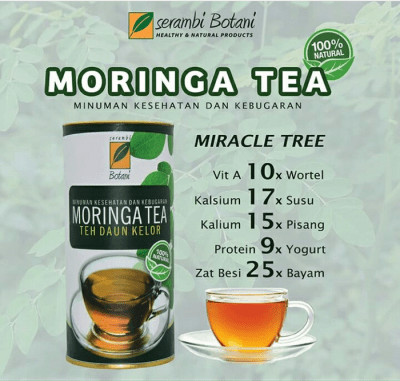 New Product!! Moringa Tea 100% Natural Ipb Store Ipb Store