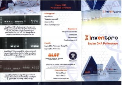 InventPro Enzim KIT Polimerase Murni for PCR