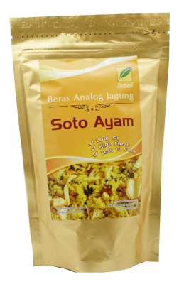 Beras Analog Soto Ayam 100G Ipb Store Healthy & Natural Products Ipb Store