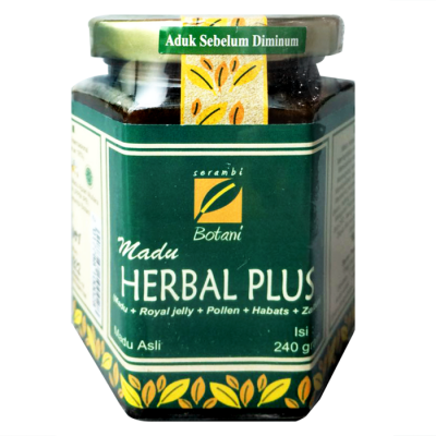 Madu Herbal Plus 240G Ipb Store Healthy & Natural Products Ipb Store