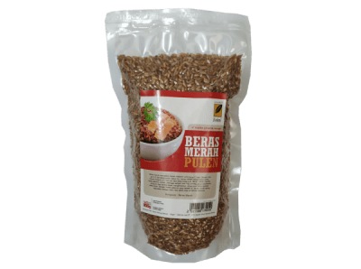 Beras Merah Pulen 800G Ipb Store Healthy & Natural Products Ipb Store