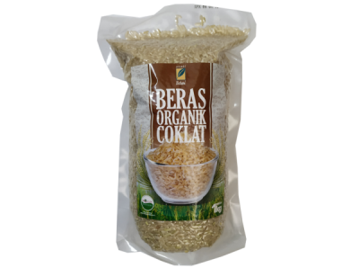 Beras Organik Coklat 1Kg Ipb Store Healthy & Natural Products Ipb Store