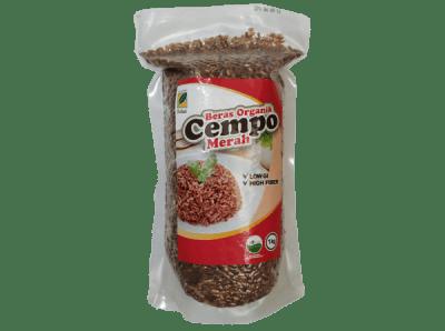 Beras Organik Cempo Merah 1Kg Ipb Store Healthy & Natural Product Ipb Store