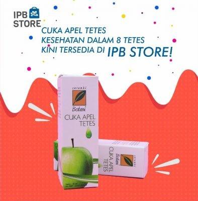 Cuka Apel Tetes Ipb Store