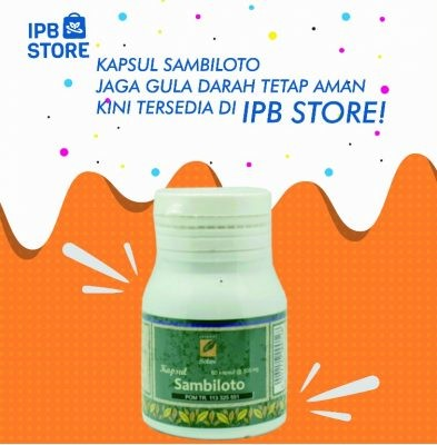 Kapsul Sambiloto Ipb Store