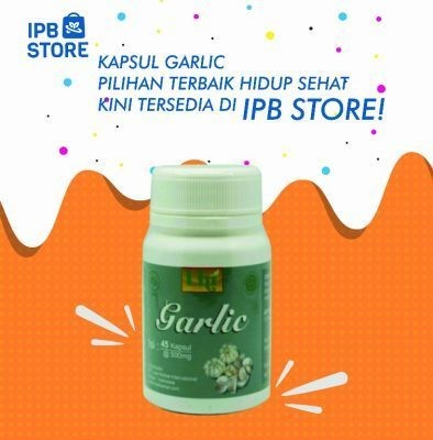 Kapsul Black Garlic Ipb Store