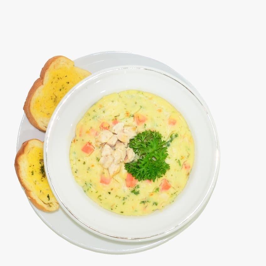 Cream Soup NON MSG Rempah Asli Rasa Ayam Gluten Free Fits Mandiri