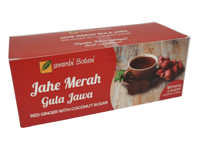Jahe Merah Gula Jawa Isi 12 Ipb Store Ipb Store