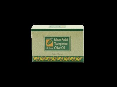 Sabun Padat Transparan Olive Oil Ipb Store