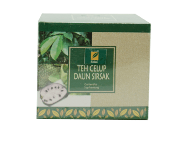 Teh Celup Daun Sirsak Ipb Store Healthy & Natural Products Ipb Store