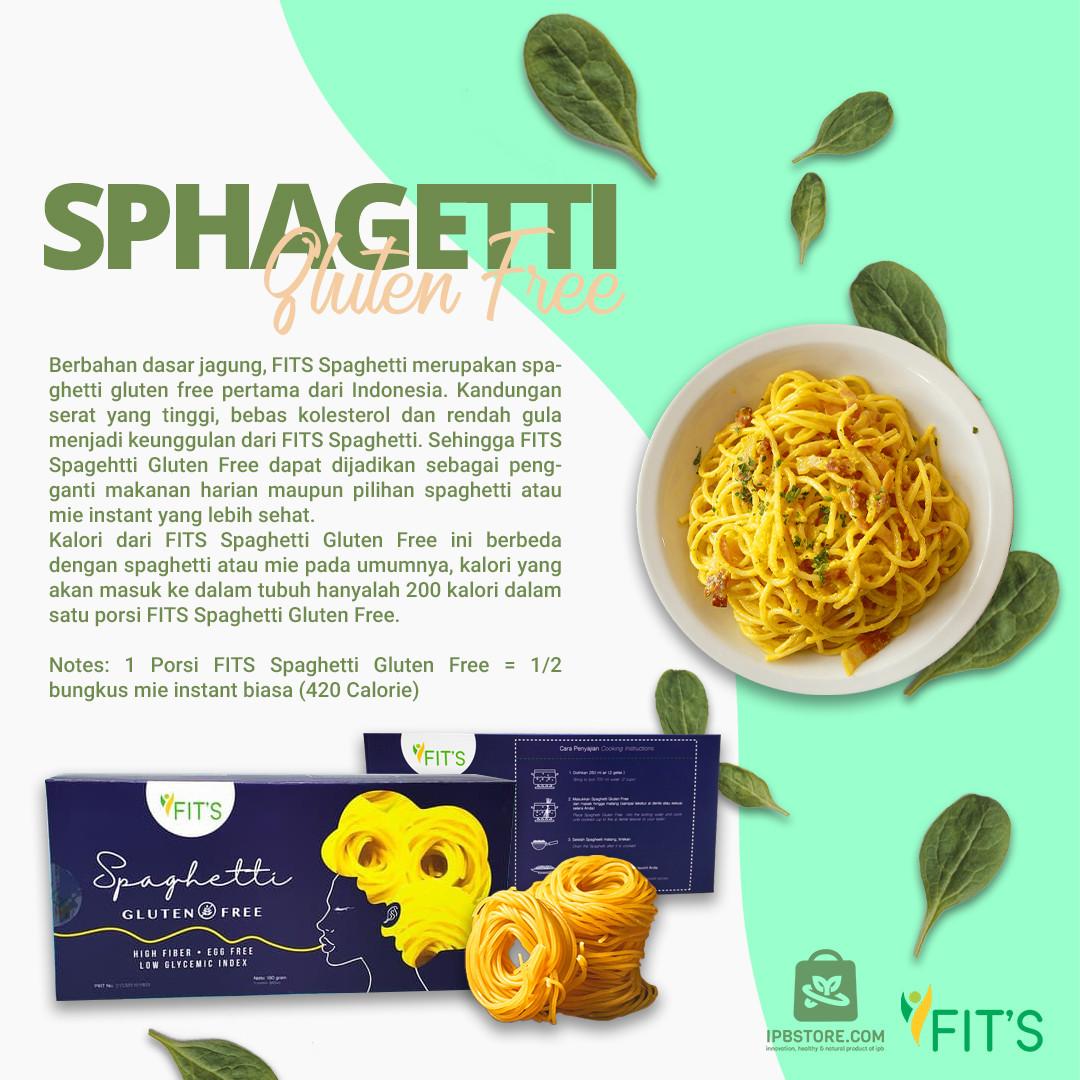 Spaghetti Bebas Gluten Free Dairy Free Instant Praktis 3 Porsi