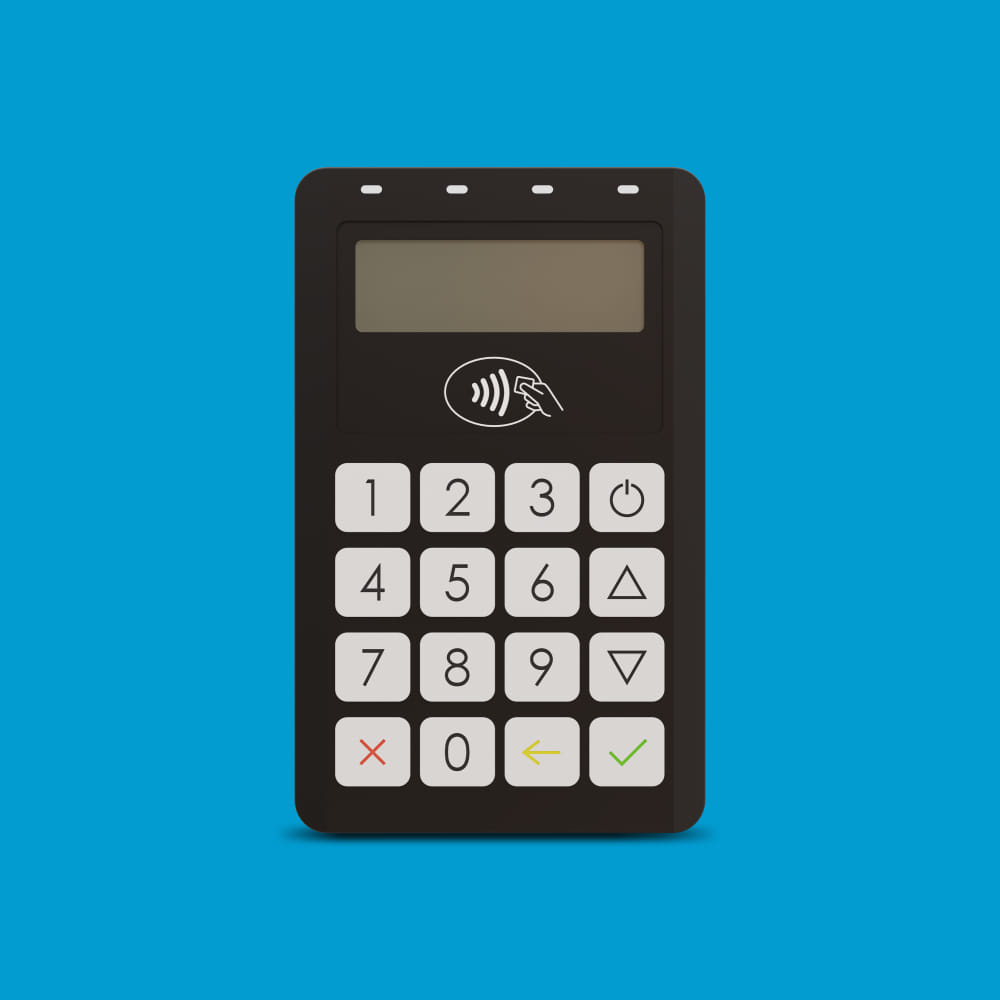 Infinite Peripherals Infinea Bluepad EMV certified